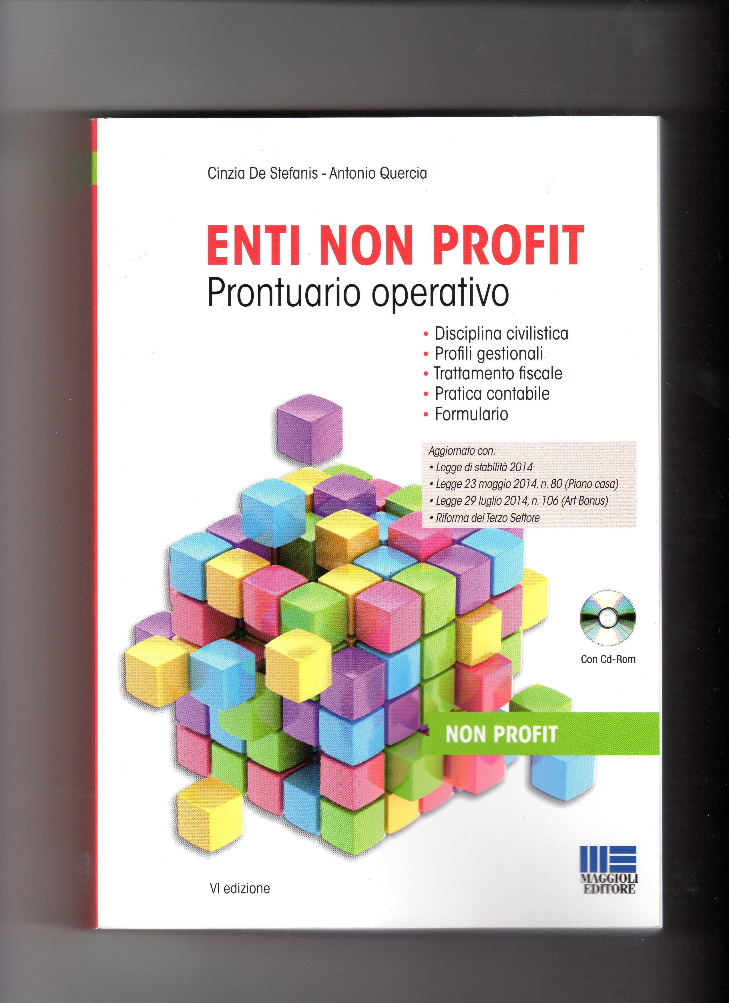 Enti non profit prontuario operativo for Case modulari con suite di legge